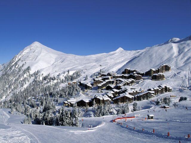 Holiday in mountain resort Studio 4 people (526) - Résidence Pierre de Soleil - La Plagne
