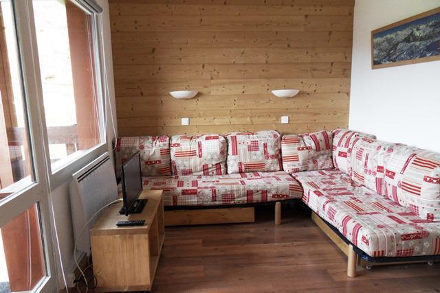 Holiday in mountain resort Studio sleeping corner 4 people (328) - Résidence Pierre de Soleil - La Plagne