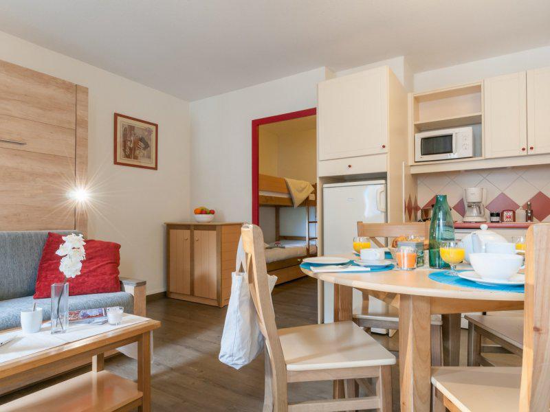 Vacances en montagne Studio 4 personnes - Résidence Pierre et Vacances la Rivière-Aiglons - Chamonix