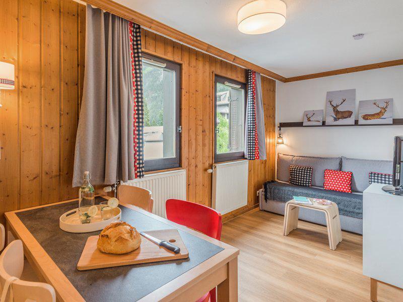 Vacances en montagne Appartement 2 pièces 4 personnes - Résidence Pierre et Vacances la Rivière-Aiglons - Chamonix