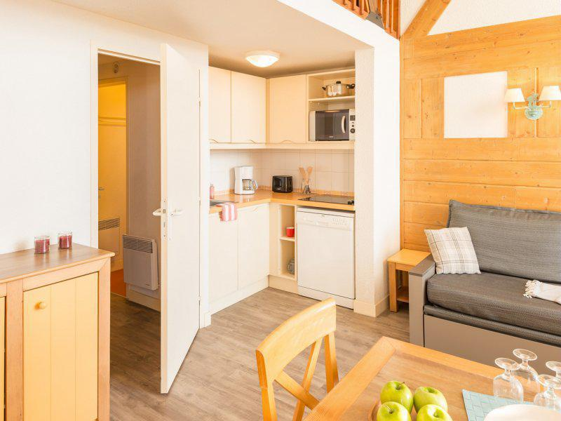 Vacances en montagne Appartement duplex 2 pièces 8 personnes - Résidence Pierre et Vacances le Pédrou - Font Romeu