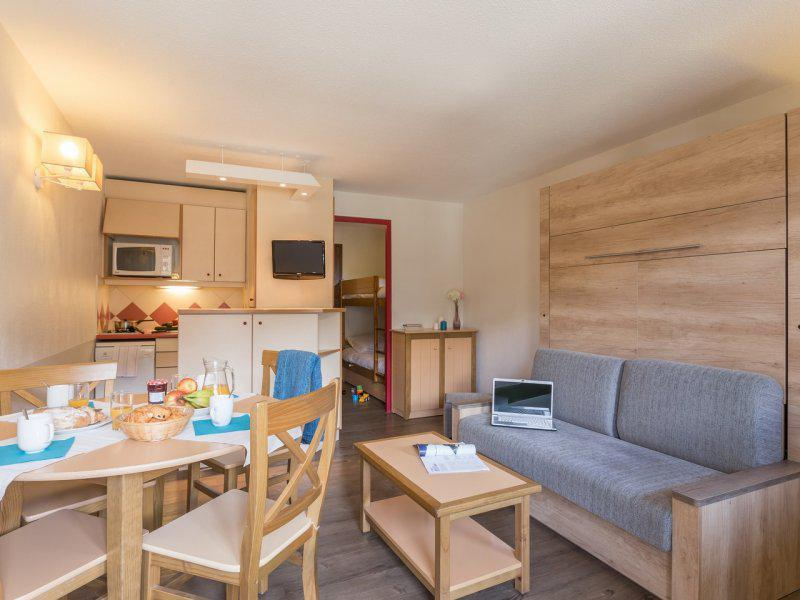 Holiday in mountain resort Studio cabin 4 people - Résidence Pierre et Vacances les Ravines - Méribel