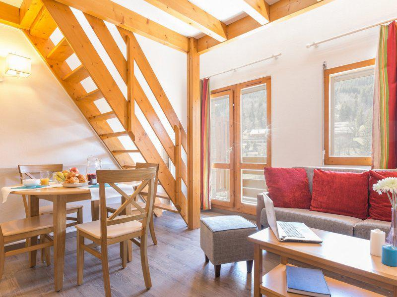 Holiday in mountain resort Studio cabin mezzanine 6 people - Résidence Pierre et Vacances les Ravines - Méribel