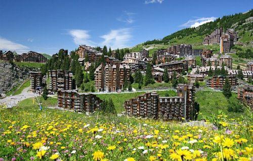 Location au ski Residence Pierre & Vacances Atria Crozats - Avoriaz - Extérieur été