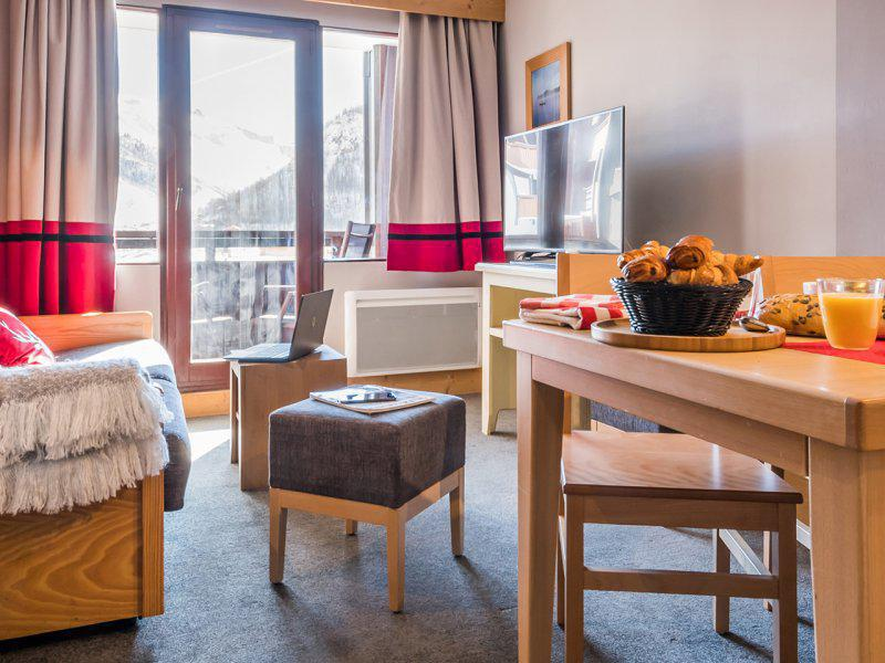 Vacances en montagne Appartement 2 pièces 4-5 personnes (supérieur) - Résidence Pierre & Vacances Balcons de Bellevarde - Val d'Isère