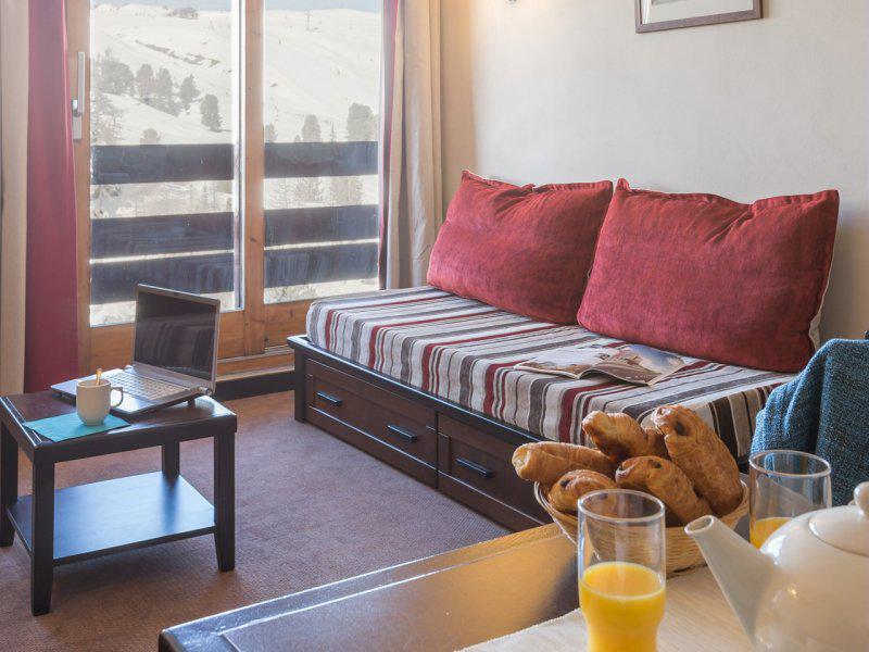 Vacances en montagne Appartement 3 pièces 4-6 personnes - Résidence Pierre & Vacances Belle Plagne le Quartz - La Plagne