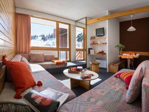 Wakacje w górach Résidence Pierre & Vacances Bellecôte - La Plagne - Pokój gościnny