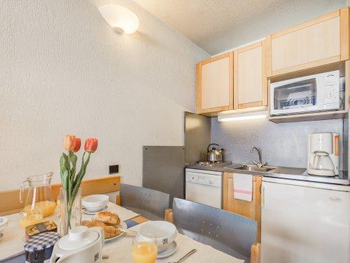 Vacances en montagne Résidence Pierre & Vacances Inter-Résidences - Tignes - Cuisine ouverte