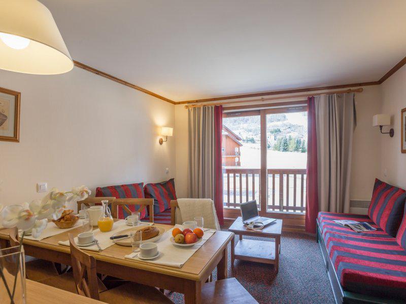 Vacances en montagne Appartement 3 pièces 7 personnes - Résidence Pierre & Vacances l'Alpaga - Serre Chevalier