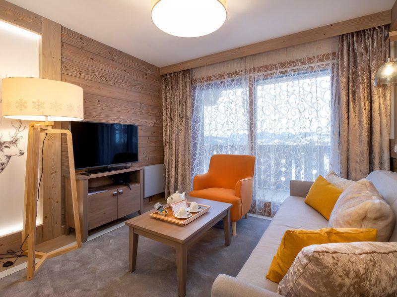 Vacances en montagne Appartement 2 pièces 4 personnes - Résidence Pierre & Vacances l'Hévana - Méribel