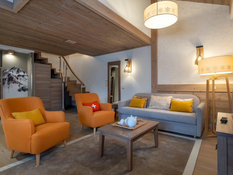 Vacances en montagne Appartement 4 pièces 8 personnes - Résidence Pierre & Vacances l'Hévana - Méribel