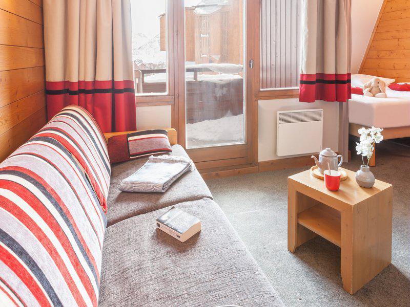 Vacances en montagne Appartement 2 pièces 4 personnes - Résidence Pierre & Vacances l'Ours Blanc - Alpe d'Huez