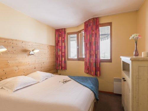 Urlaub in den Bergen Résidence Pierre & Vacances l'Ours Blanc - Alpe d'Huez - Schlafzimmer