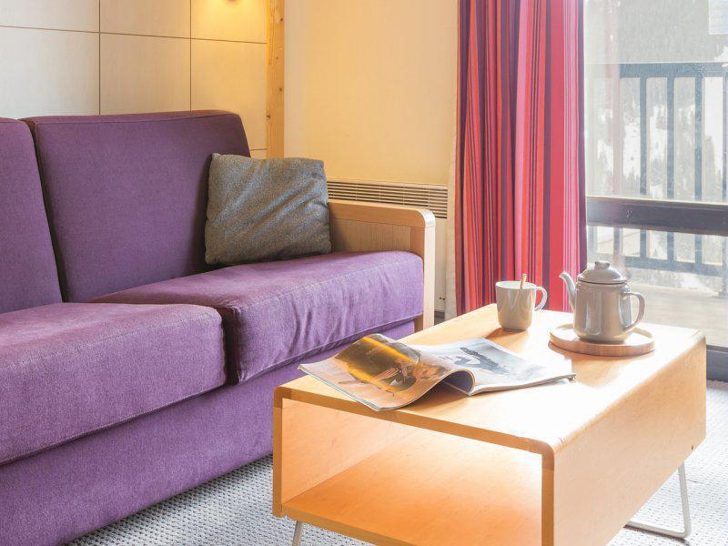 Vacances en montagne Appartement 2 pièces 3-5 personnes - Résidence Pierre & Vacances la Forêt - Flaine