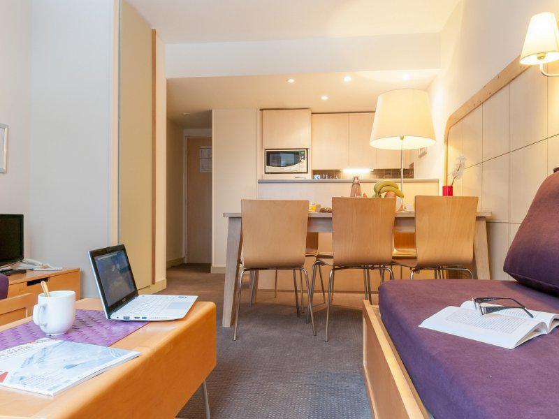 Vacances en montagne Appartement 3 pièces 5-7 personnes (Sud) - Résidence Pierre & Vacances la Forêt - Flaine