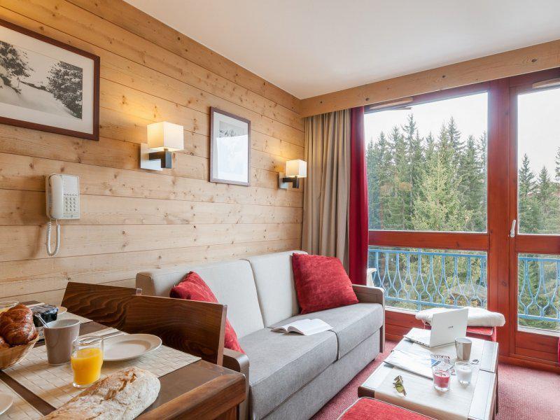 Vacances en montagne Studio 4 personnes - Résidence Pierre & Vacances le Belmont - Les Arcs