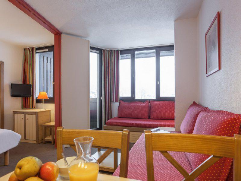 Vacances en montagne Appartement supérieur 2 pièces 5 personnes - Résidence Pierre & Vacances le Chamois Blanc - Chamonix