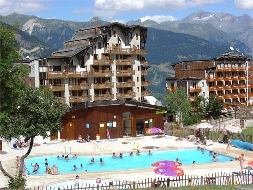 Location au ski Résidence Pierre & Vacances le Christiania - La Tania - Extérieur été