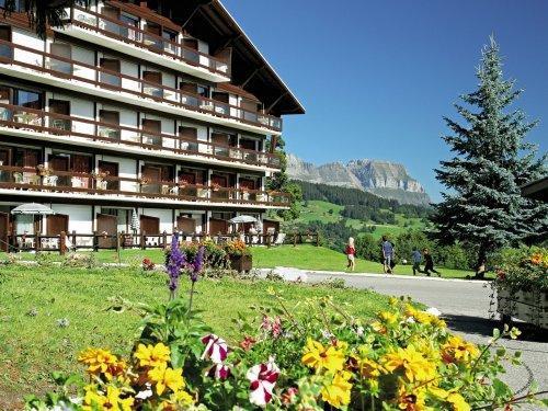 Skiverleih Résidence Pierre & Vacances le Mont d'Arbois - Megève - Draußen im Sommer