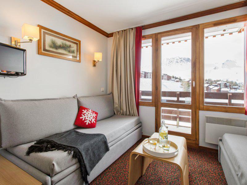 Vacances en montagne Appartement 2 pièces 3-5 personnes - Résidence Pierre & Vacances le Mont Soleil - La Plagne