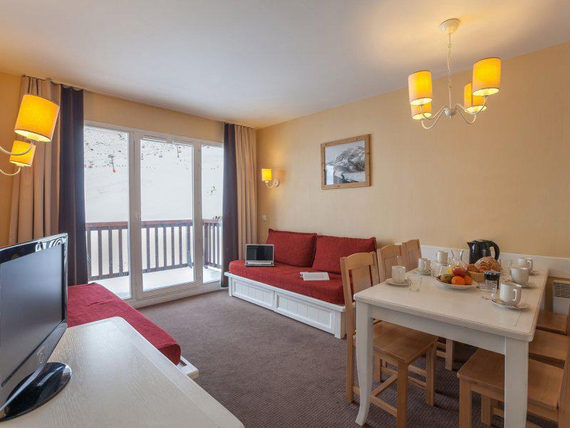 Vacances en montagne Appartement 2 pièces 5-7 personnes - Résidence Pierre & Vacances le Thabor - Valmeinier