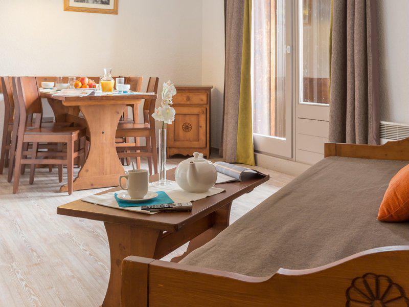 Vacances en montagne Studio 4-6 personnes - Résidence Pierre & Vacances les Bergers - Alpe d'Huez