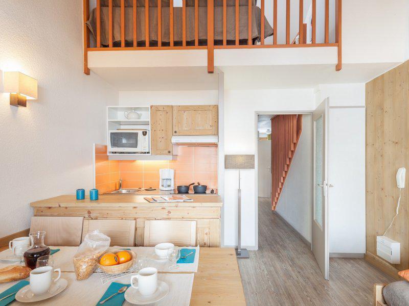 Vacances en montagne Appartement 2 pièces mezzanine 5-7 personnes - Résidence Pierre & Vacances les Chalets de Solaise - Val d'Isère