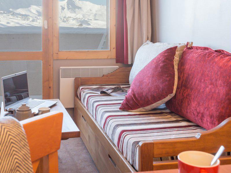 Vacances en montagne Studio 3-5 personnes - Résidence Pierre & Vacances les Constellations - La Plagne