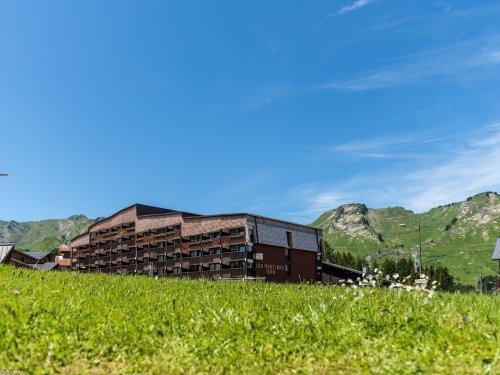 Каникулы в горах Résidence Pierre & Vacances les Mouflons I et II - Le Praz de Lys - летом под открытым небом