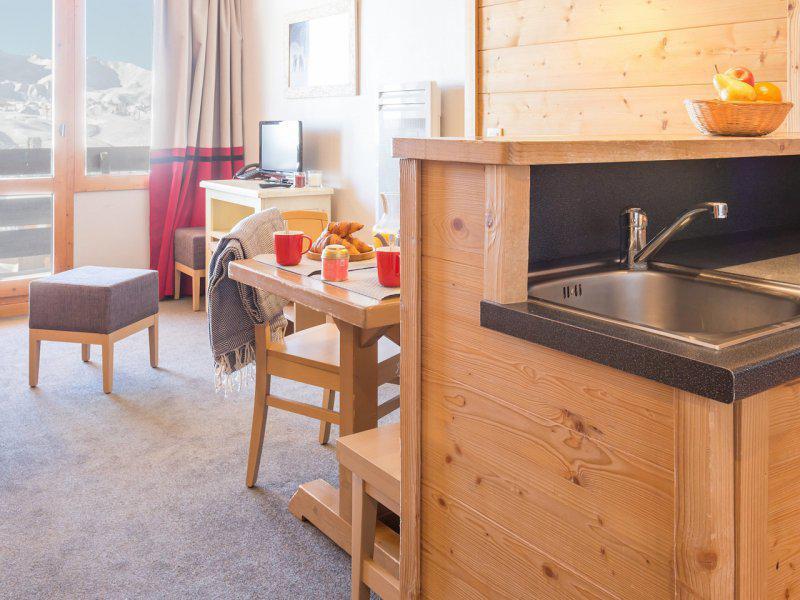 Vacances en montagne Appartement 2 pièces 5 personnes - Résidence Pierre & Vacances les Néréïdes - La Plagne