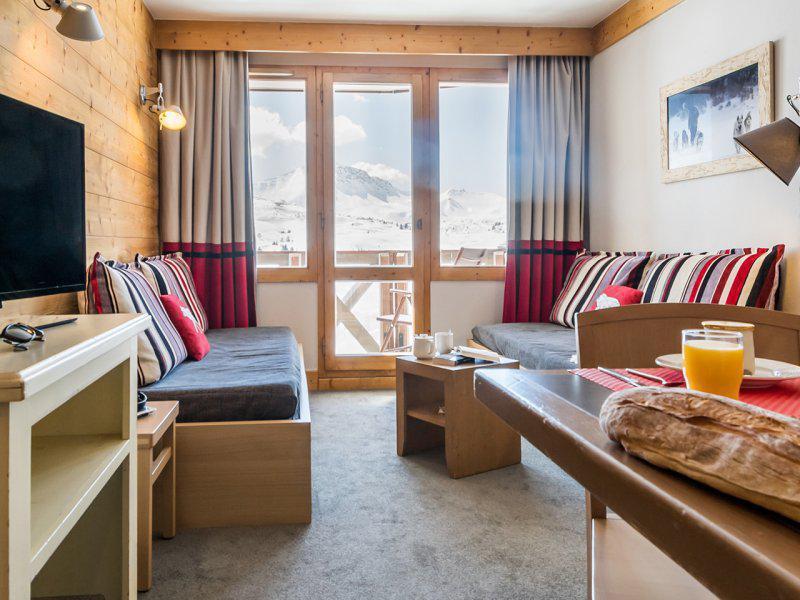 Vacances en montagne Appartement 2 pièces 5-7 personnes - Résidence Pierre & Vacances les Néréïdes - La Plagne