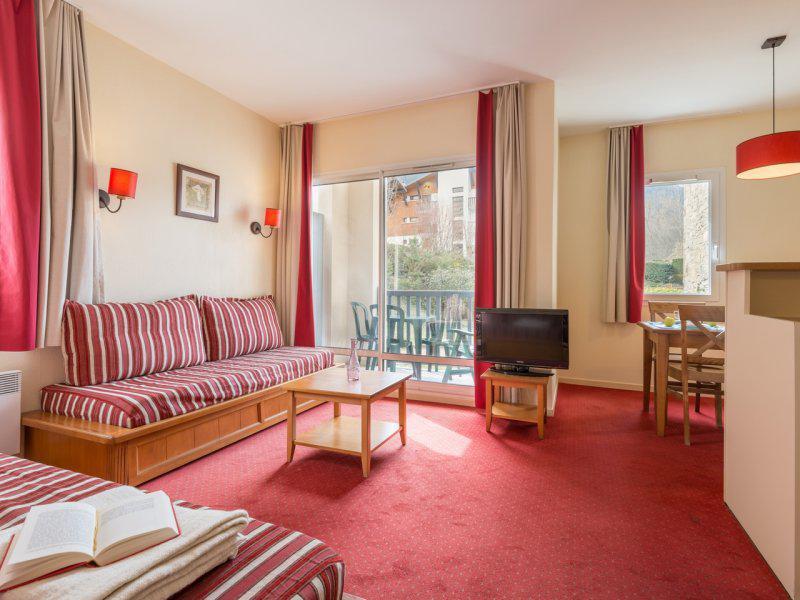 Vacances en montagne Appartement 2 pièces 4-6 personnes - Résidence Pierre & Vacances les Rives de l'Aure - Saint Lary Soulan