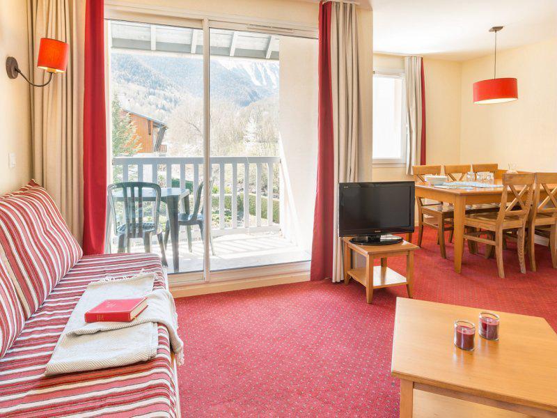 Vacances en montagne Appartement 4 pièces 8 personnes - Résidence Pierre & Vacances les Rives de l'Aure - Saint Lary Soulan