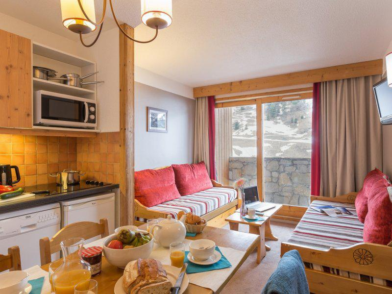 Holiday in mountain resort 2 room apartment 2-4 people - Résidence Pierre & Vacances les Sentiers du Tueda - Méribel-Mottaret