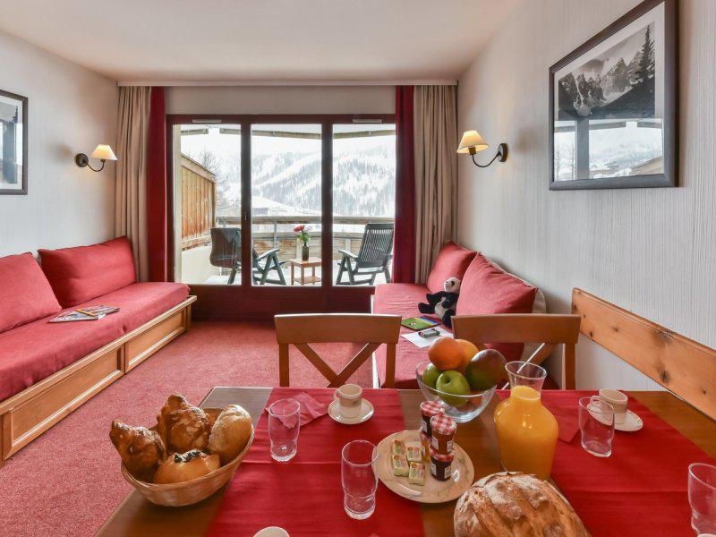 Vacances en montagne Appartement 2 pièces 4 personnes - Résidence Pierre & Vacances les Terrasses d'Azur - Isola 2000
