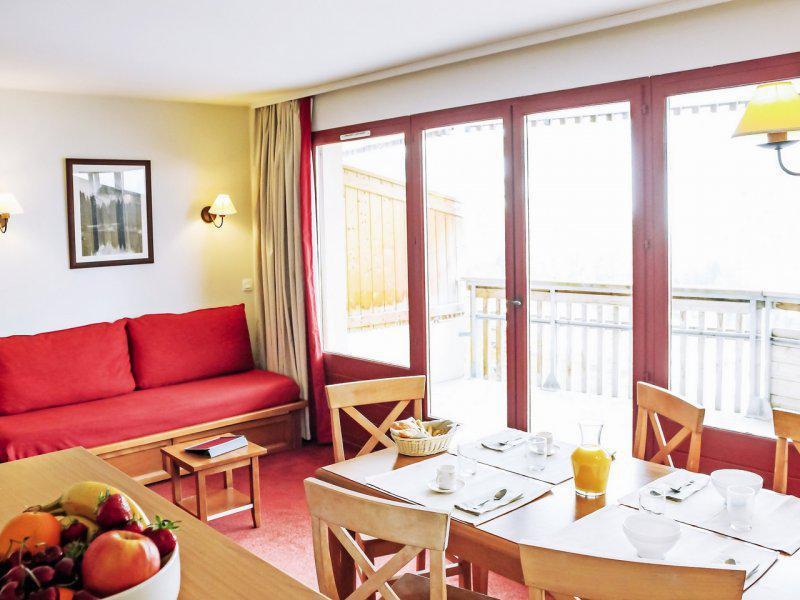 Vacances en montagne Appartement 2 pièces 4-6 personnes - Résidence Pierre & Vacances les Terrasses d'Azur - Isola 2000