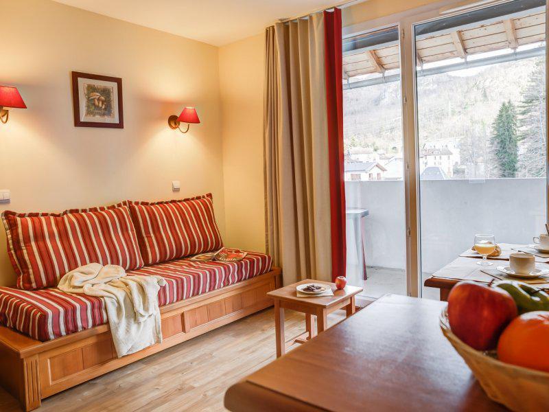 Vacances en montagne Appartement 2 pièces 4-6 personnes - Résidence Pierre & Vacances les Trois Domaines - Ax-Les-Thermes