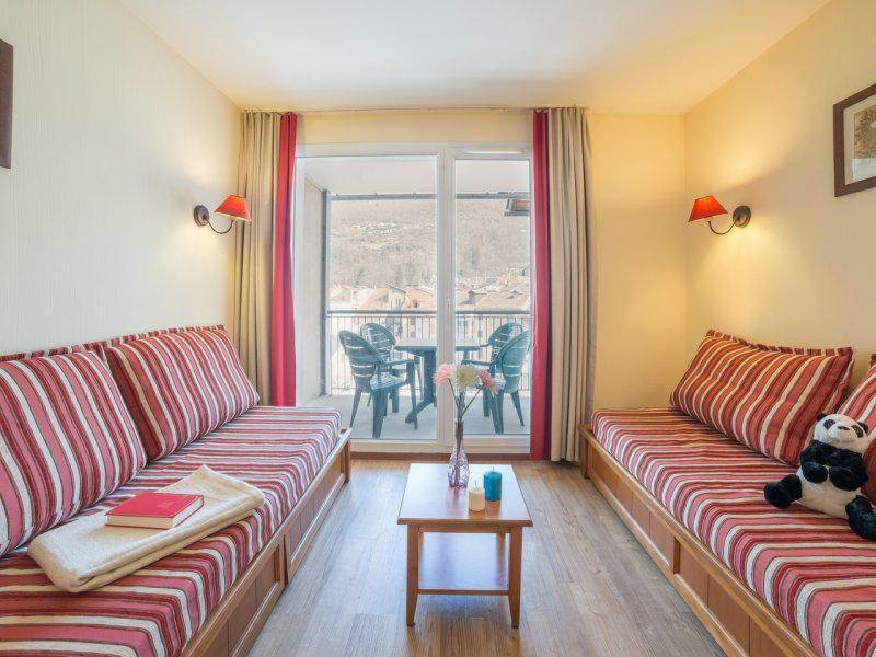 Vacances en montagne Studio coin montagne 4 personnes - Résidence Pierre & Vacances les Trois Domaines - Ax-Les-Thermes