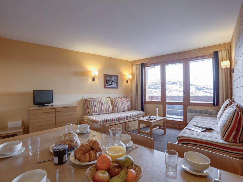 Vacances en montagne Appartement 3 pièces 5-7 personnes - Résidence Pierre & Vacances Marelle & Rami - Montchavin La Plagne