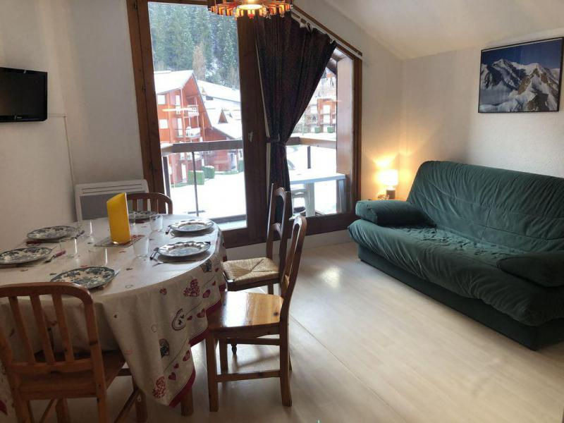 Holiday in mountain resort 3 room apartment 6 people (H592) - Résidence Pierres Blanches - Les Contamines-Montjoie - Accommodation