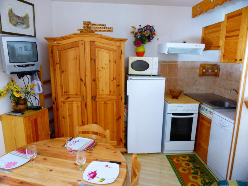 Holiday in mountain resort Studio cabin 6 people (H579) - Résidence Pierres Blanches - Les Contamines-Montjoie