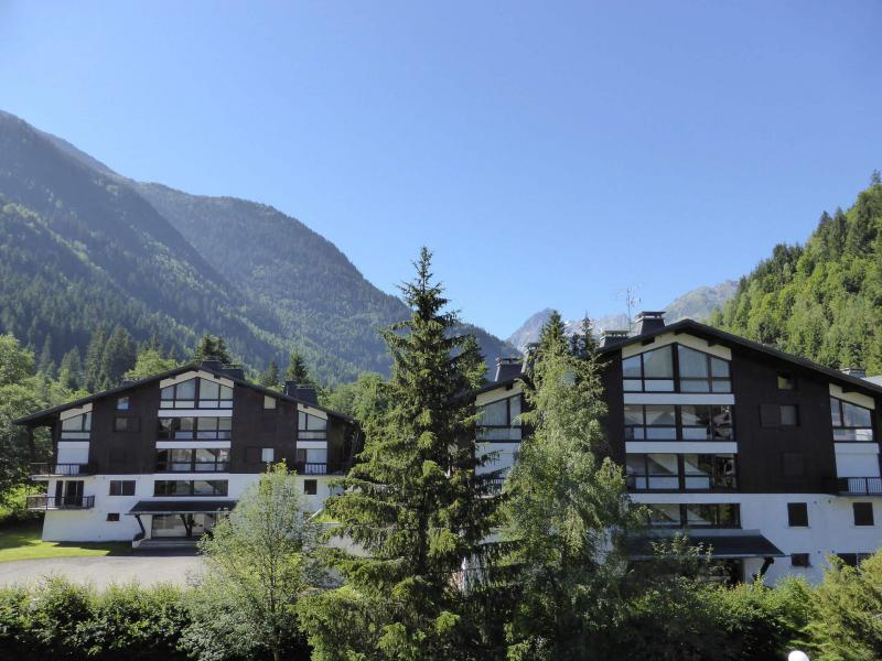 Urlaub in den Bergen 2-Zimmer-Appartment für 5 Personen (F406) - Résidence Pierres Blanches - Les Contamines-Montjoie - Draußen im Sommer