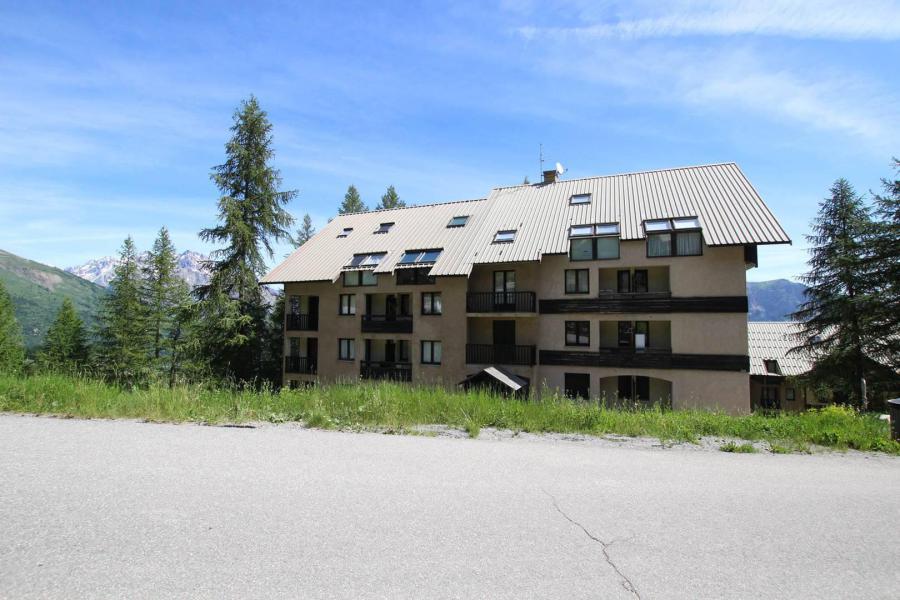 Wakacje w górach Studio z alkową 4 osoby (01A) - Résidence Pilate - Puy-Saint-Vincent - Na zewnątrz latem
