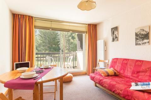 Vacanze in montagna Studio con alcova per 4 persone (005) - Résidence Plaine Alpe - Serre Chevalier - Divano
