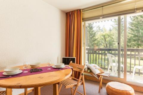Vacanze in montagna Studio con alcova per 4 persone (005) - Résidence Plaine Alpe - Serre Chevalier - Tavolo