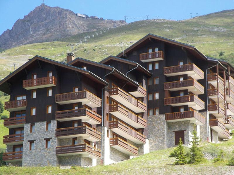 Location au ski Residence Plattieres - Mottaret - Extérieur été