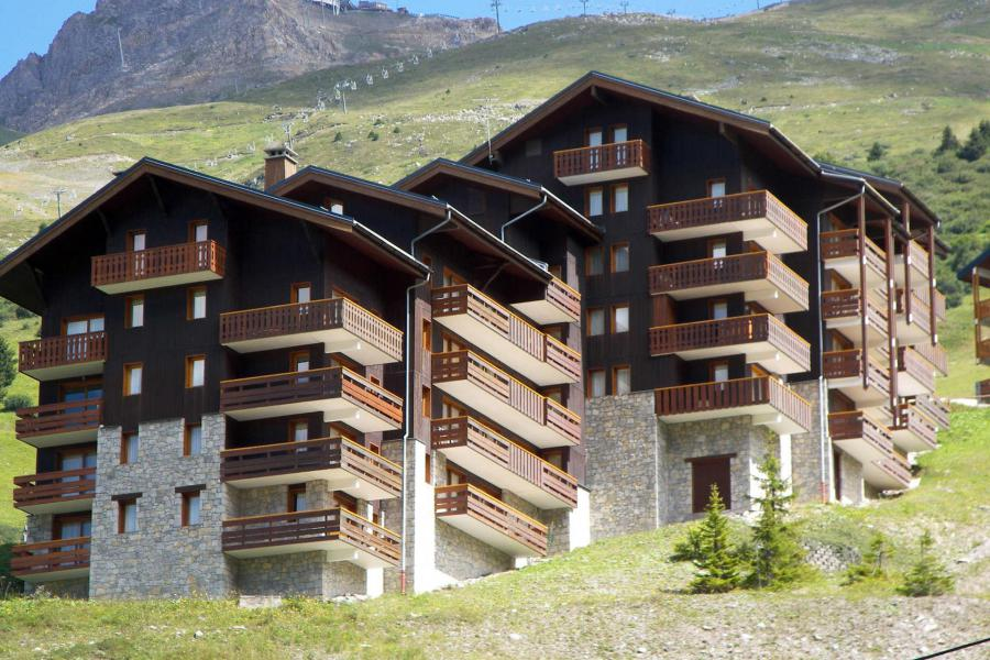 Vacanze in montagna Résidence Plattières - Méribel-Mottaret - Esteriore estate