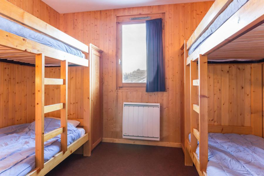 Holiday in mountain resort 2 room triplex apartment 6 people (26) - Résidence Plein Soleil - La Plagne - Bunk beds