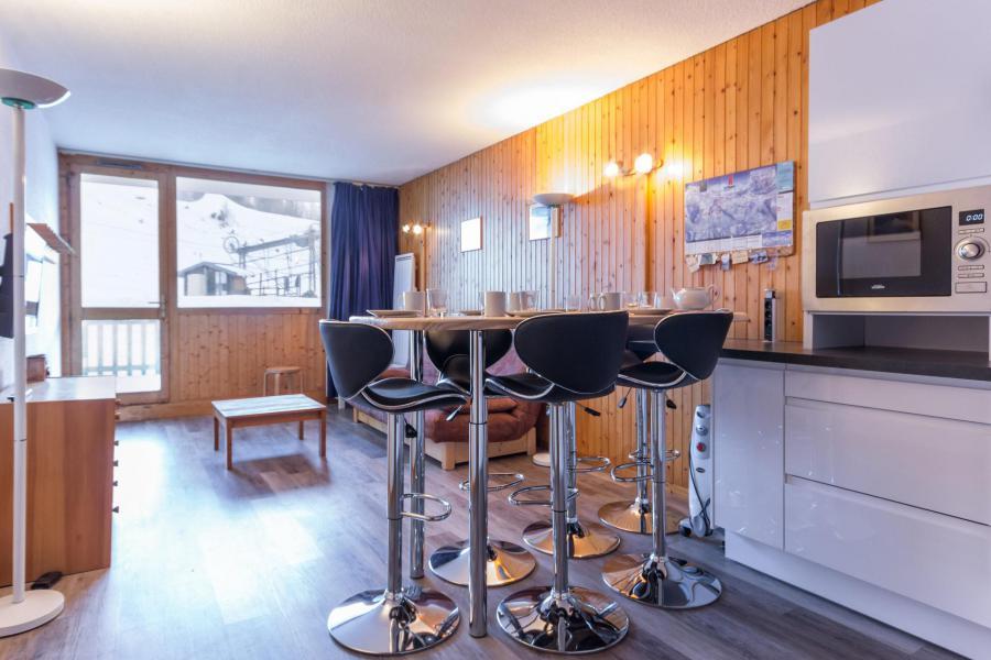 Holiday in mountain resort 2 room triplex apartment 6 people (26) - Résidence Plein Soleil - La Plagne - Living room