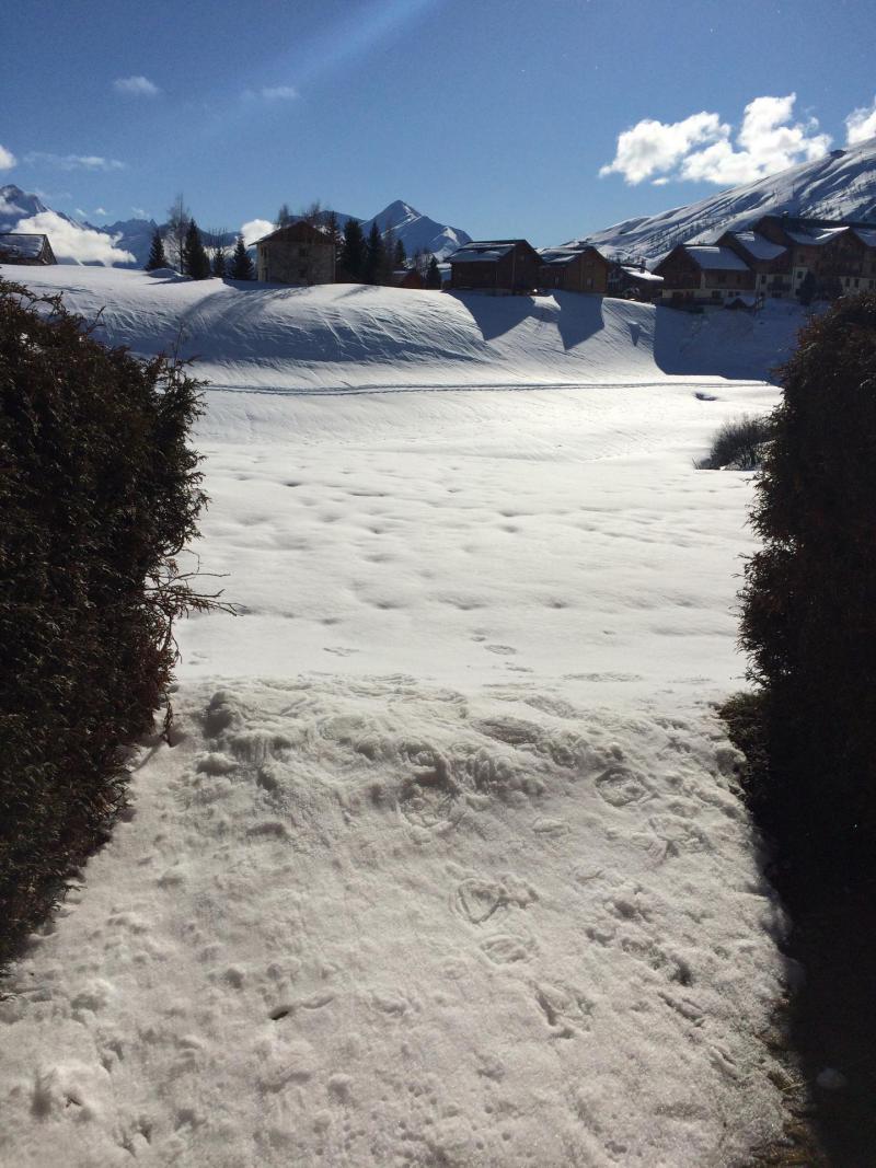 Wakacje w górach Studio z alkową 3 osoby (C96) - Résidence Plein Soleil - La Toussuire